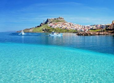The beaches of Castelsardo in Sardinia